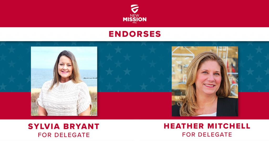 New Mission PAC Backs Heather Mitchell & Sylvia Bryant in Virginia Special Elections